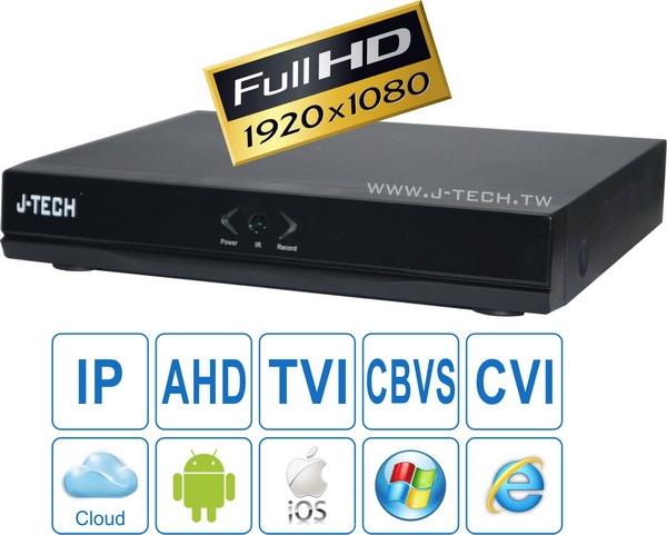 Thiết bị nghe nhìn: Lắp Đặt Camera Giá Rẻ Chất Lượng Dau-ghi-hinh-j-tech-hyd4104-1sata-